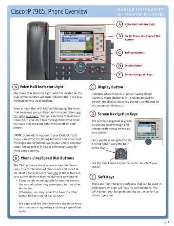 cisco ip phone 7940 series manual