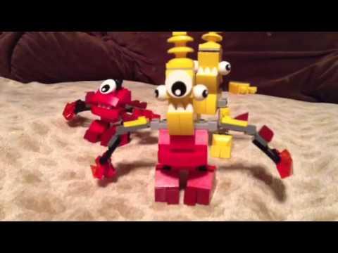 Lego mixels mix instructions