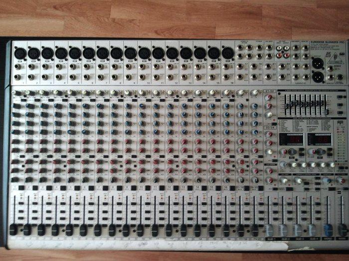 behringer eurodesk sl2442fx pro manual