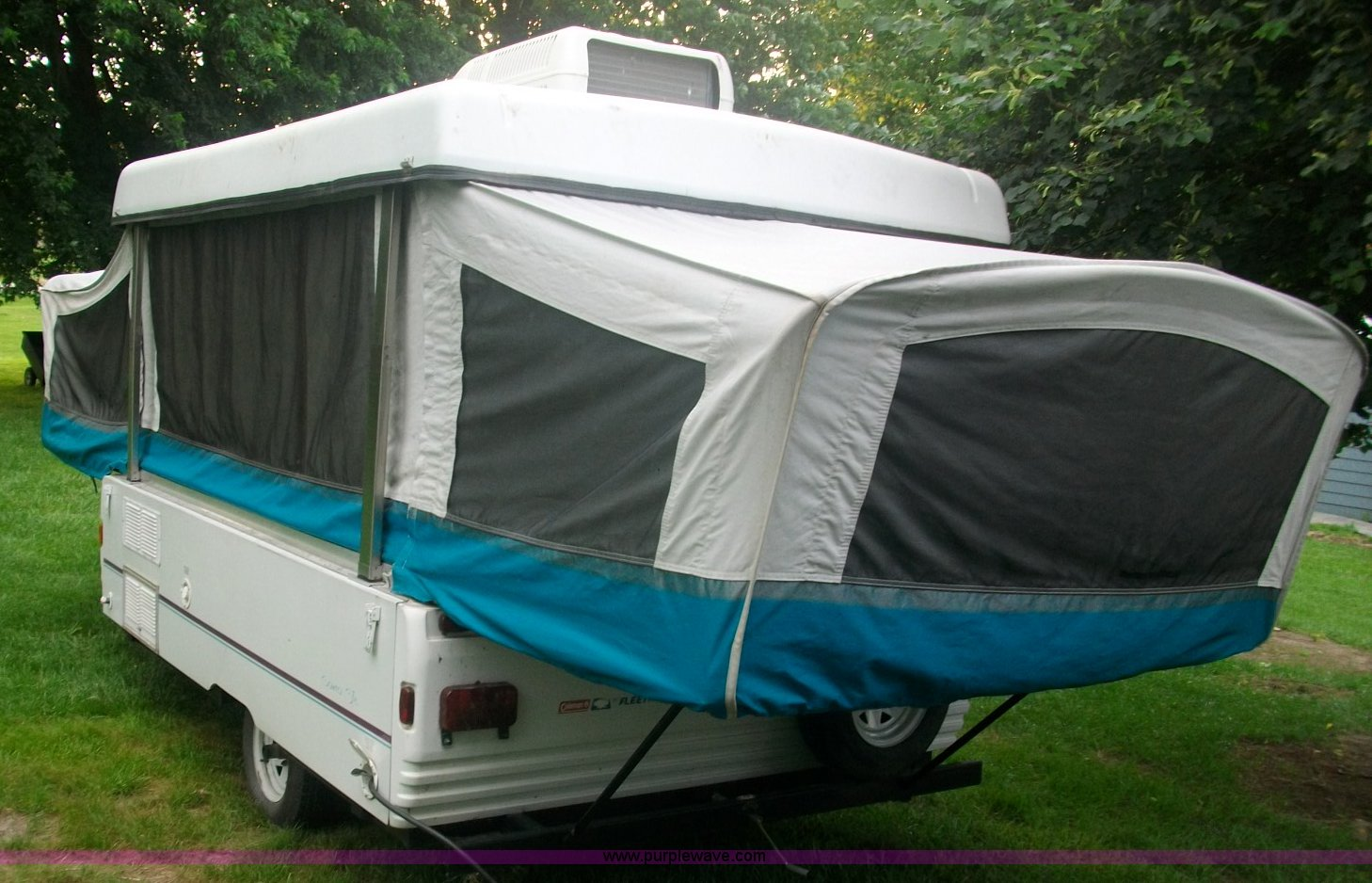 coleman fleetwood pop up camper manual