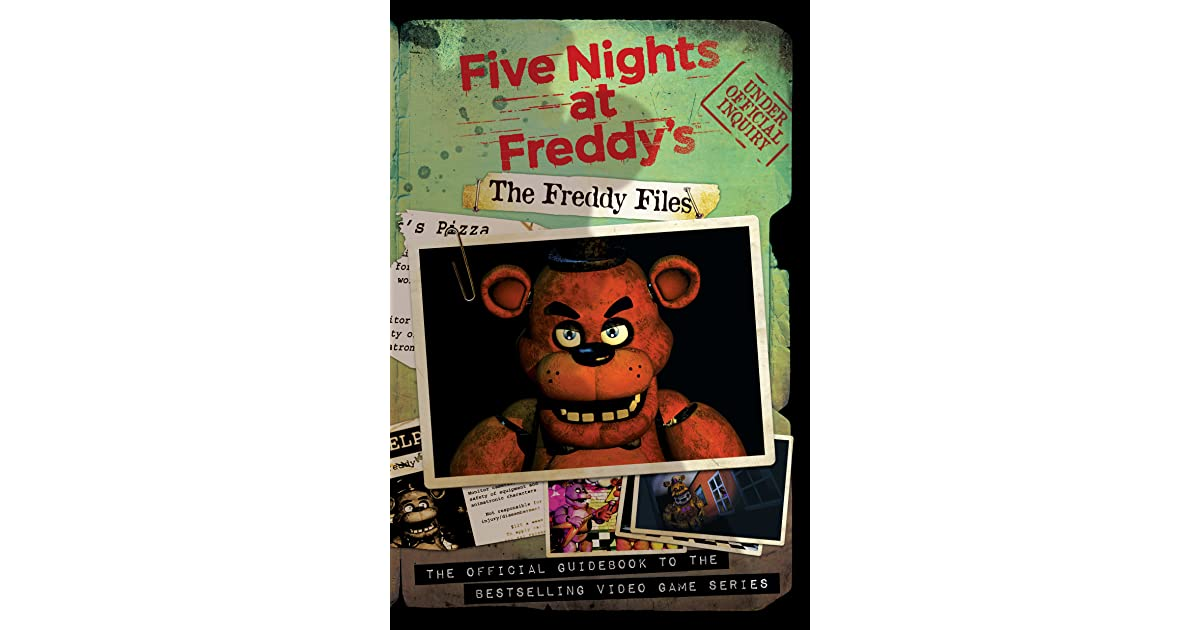 Fnaf the freddy files pdf