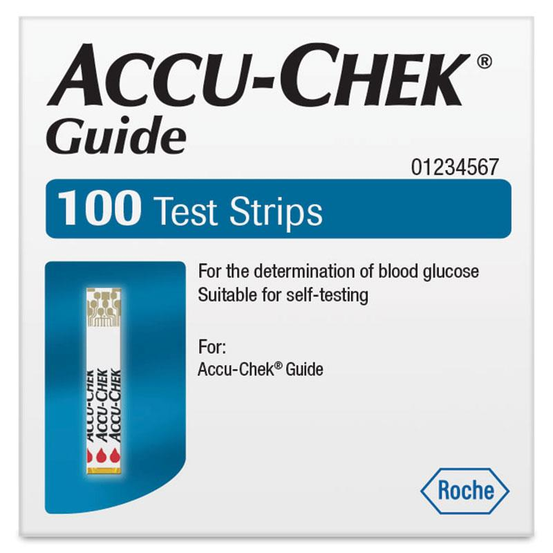 Accu chek guide test strips
