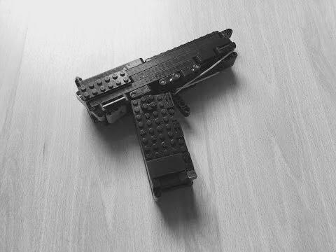 lego pistol instructions youtube