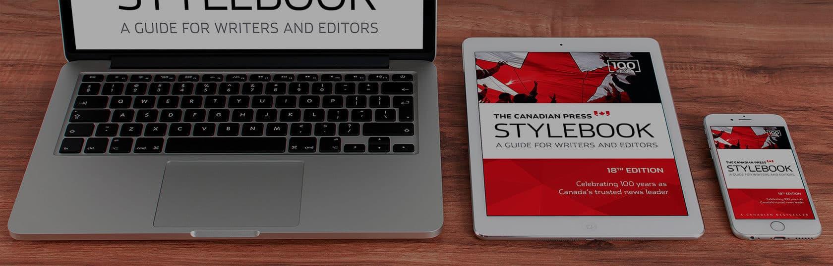 Canadian press stylebook free pdf