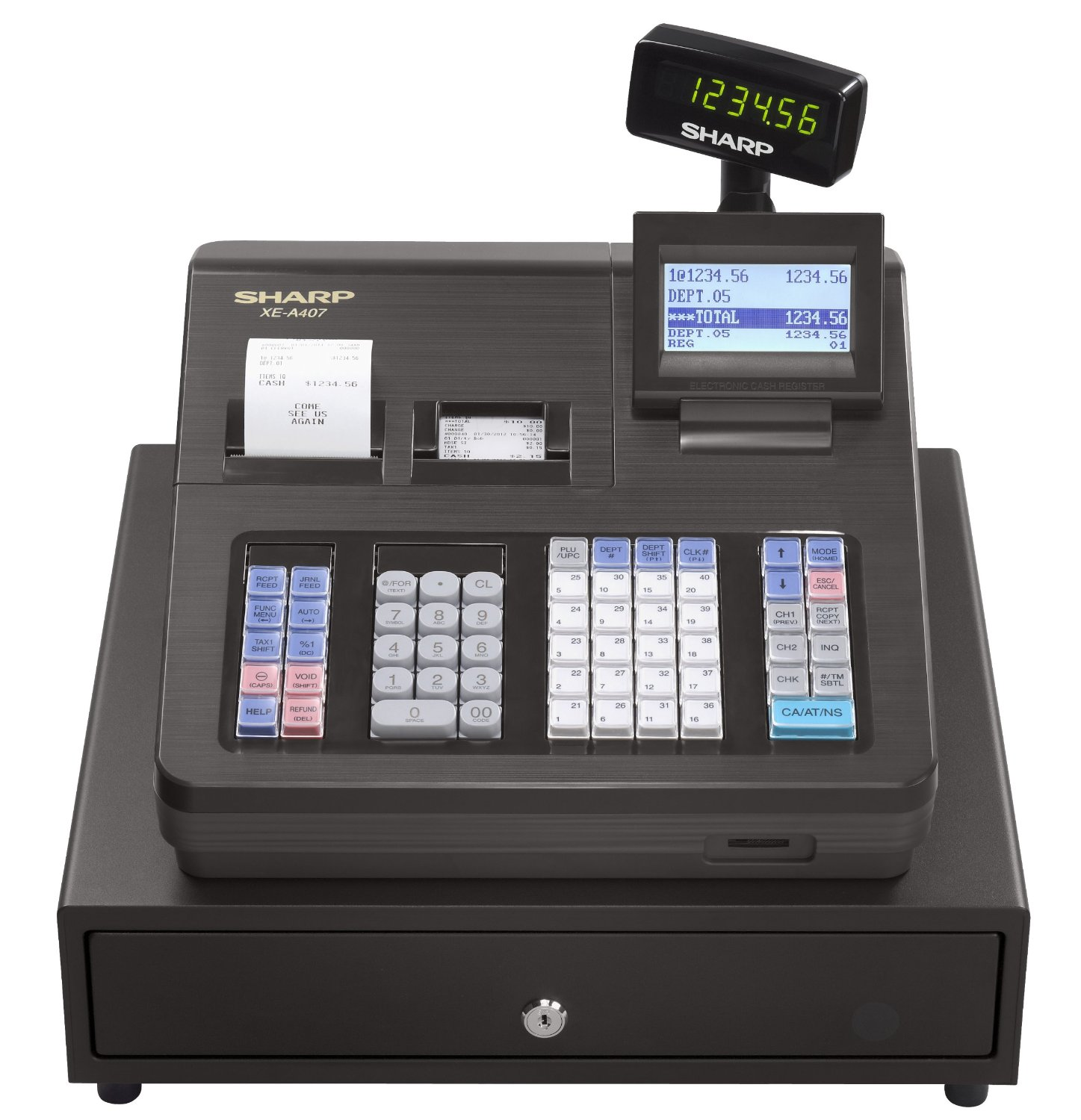 panasonic 7500 cash register manual