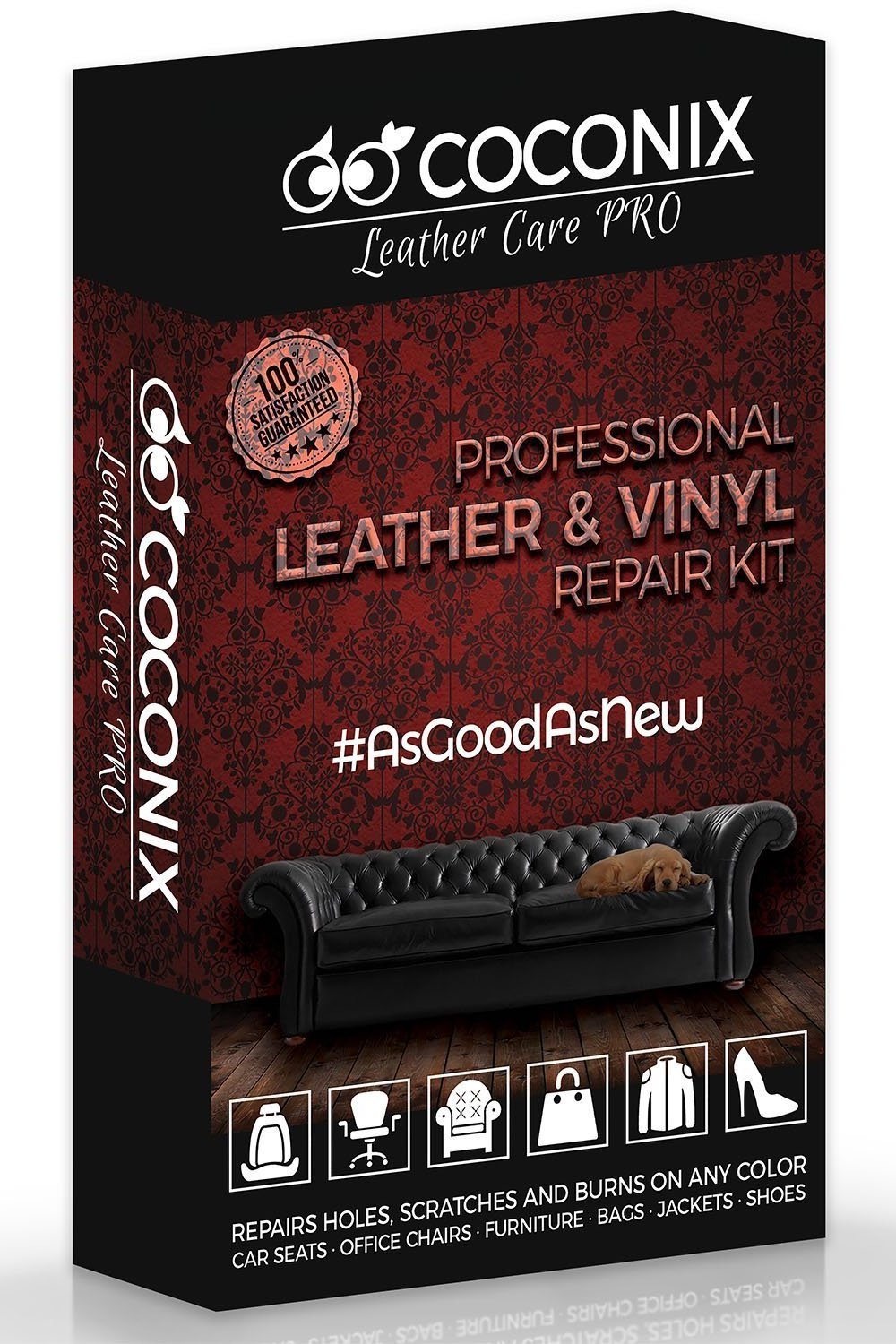 leather and vinyl repair kit instructions