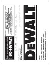 dewalt dw713-xe instructions