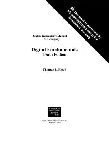 Digital fundamentals 11th edition solution manual