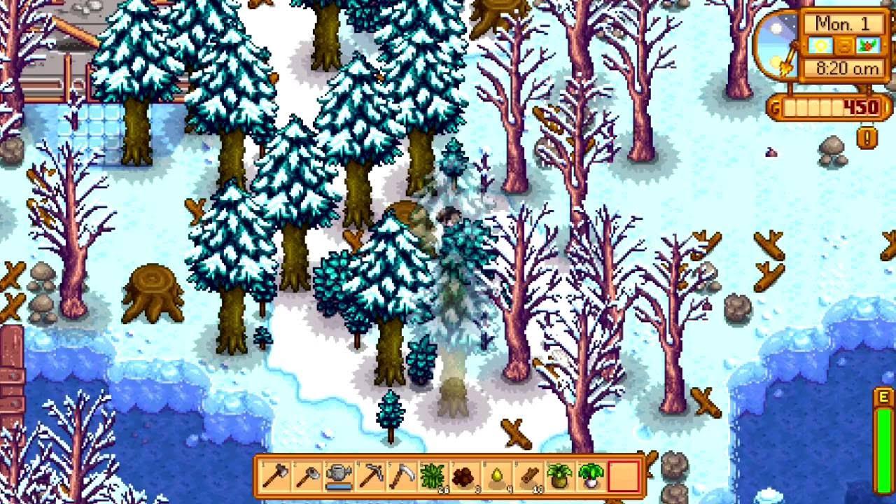 Stardew valley how to know what season it is