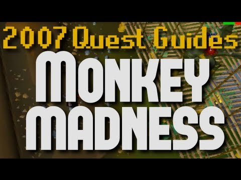 Runescape quest guide monkey madness