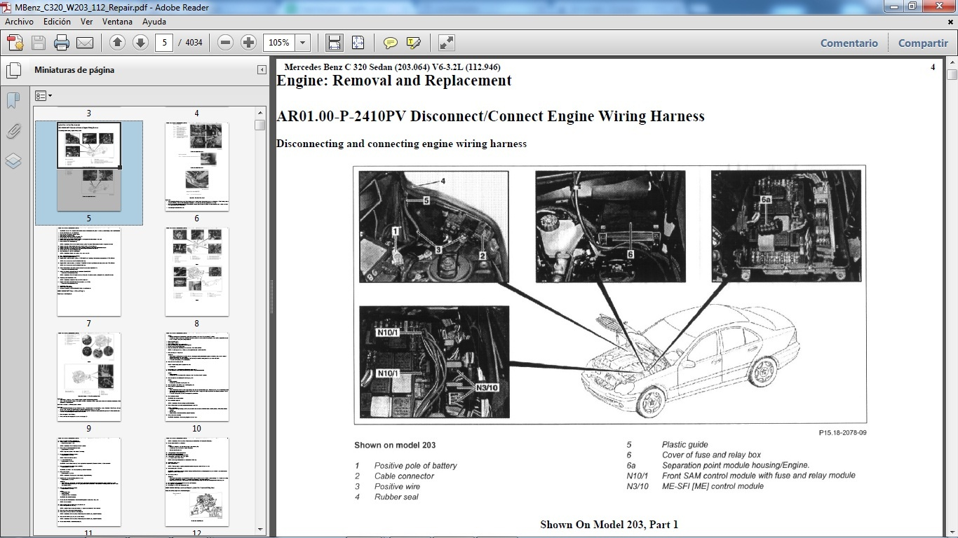 Mercedes w203 owners manual pdf