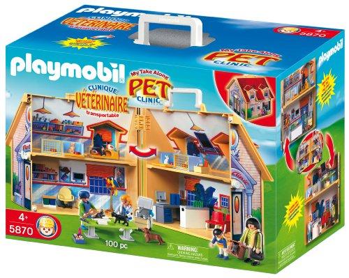playmobil pet clinic instructions