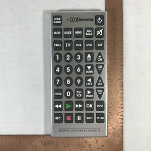 instructions for jumbo tv remote
