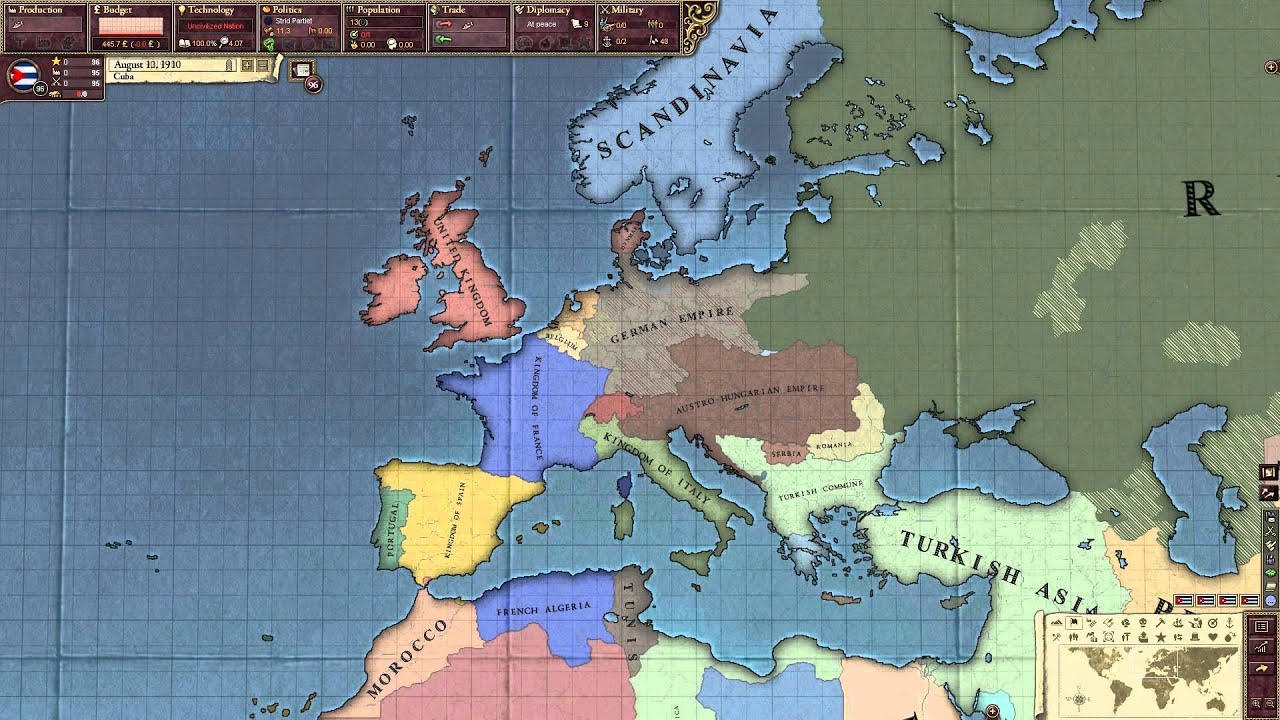 Victoria 2 how to play portugal