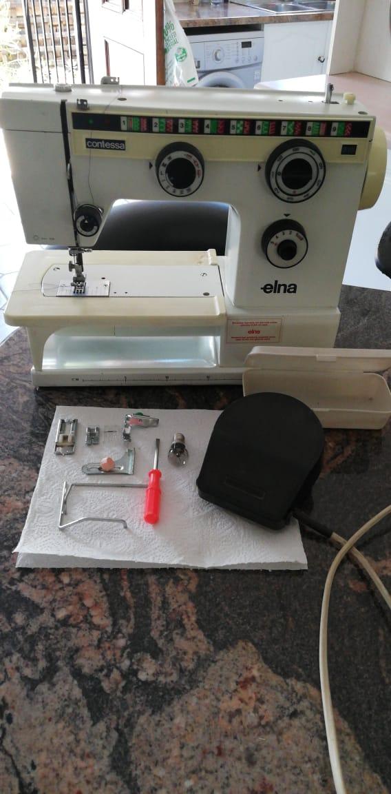Elna contessa 310 sewing machine manual