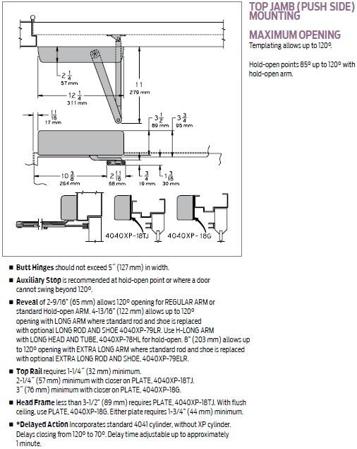 lcn 4040 door closer installation instructions