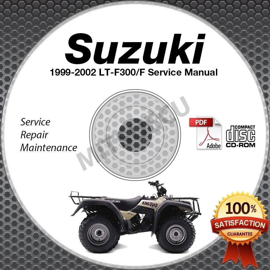 2001 suzuki king quad 300 service manual