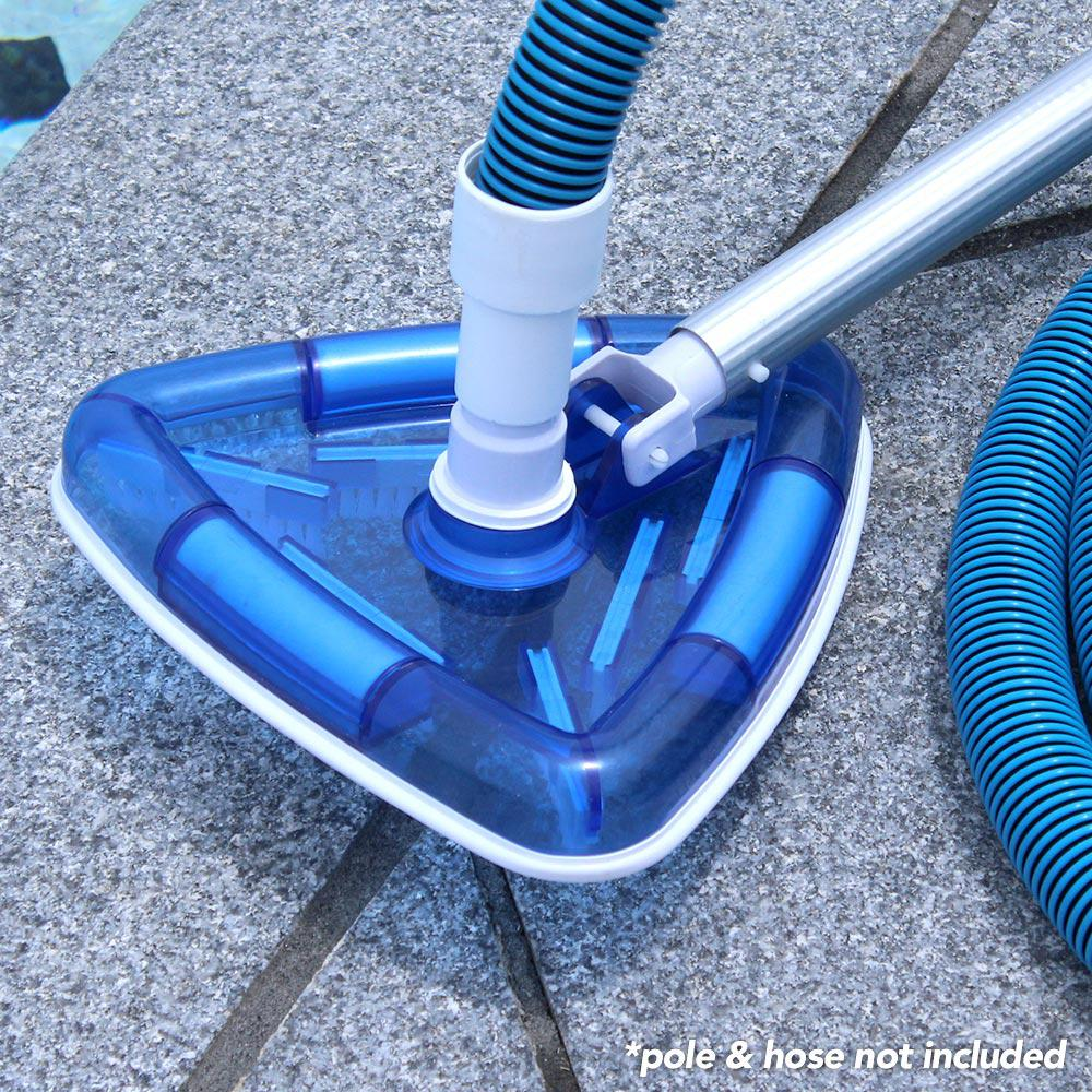 best manual pool vacuum head