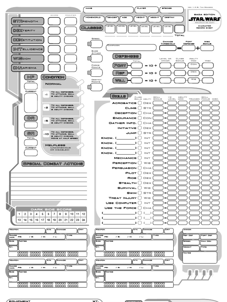Star wars saga edition races pdf
