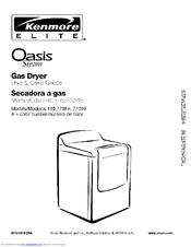 Kenmore elite he3 gas dryer manual