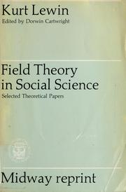 Field theory in social science pdf