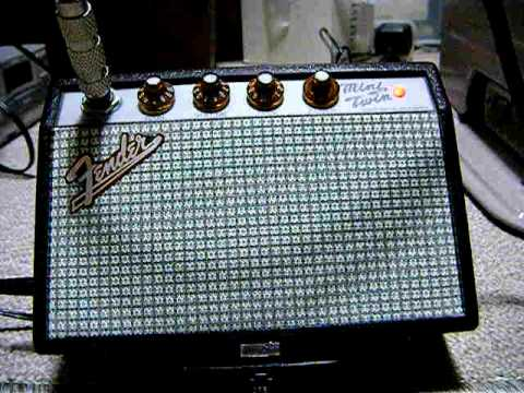 fender mini twin amp manual