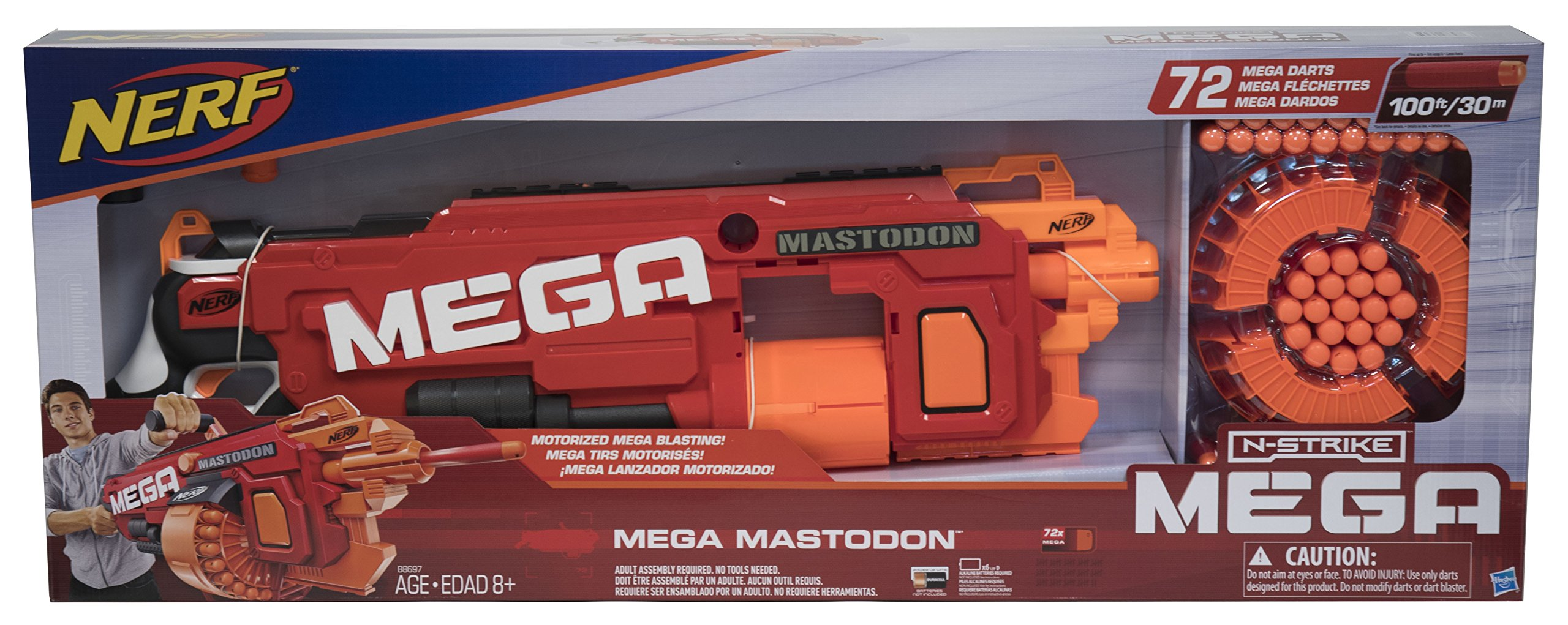 nerf mega mastodon instructions