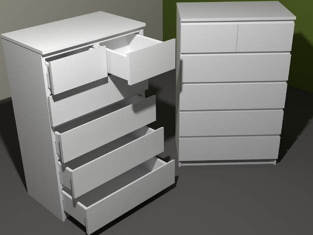 ikea malm chest of 6 drawers instructions