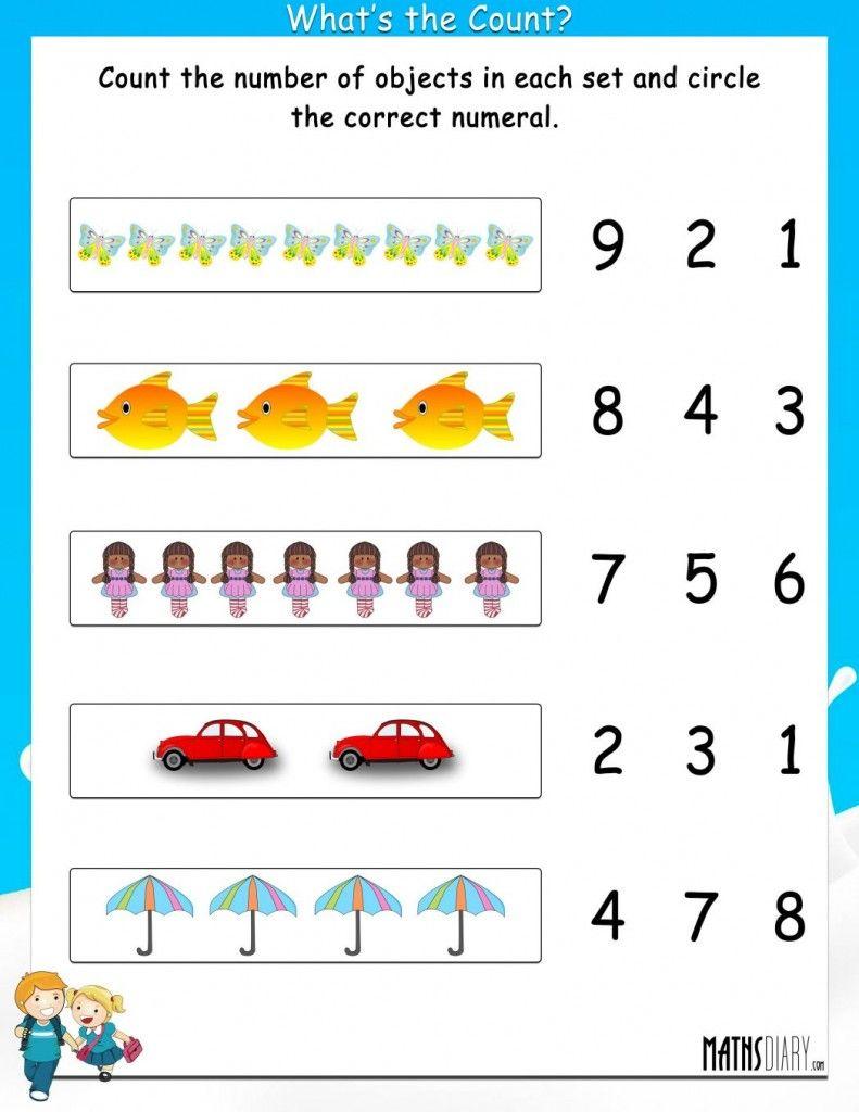 Mathematics worksheet for grade 1 pdf