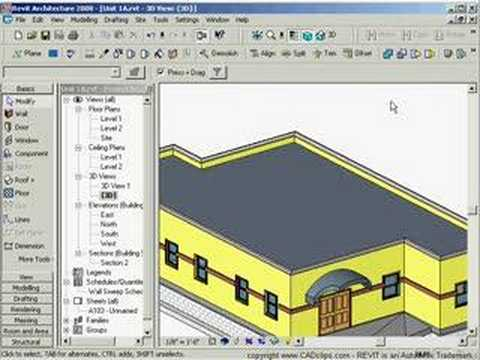 Sketchup how to make flat roof sloped
