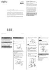 sony bravia kdl-52w4000 manual
