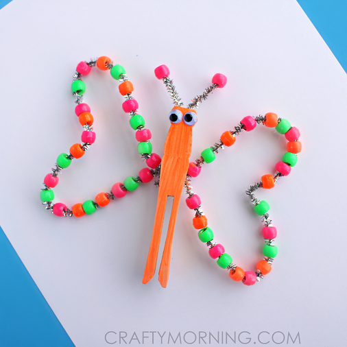 pipe cleaner butterfly instructions