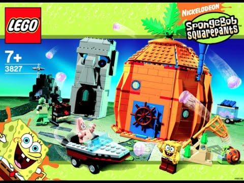 spongebob pineapple house lego instructions