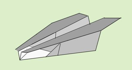 long distance paper airplane instructions