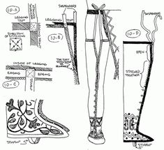 Craft manual of north american indian footwear