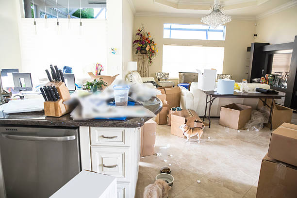 Move in to a dirty house how to clean