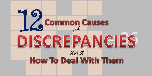 Causes of stock discrepancies pdf