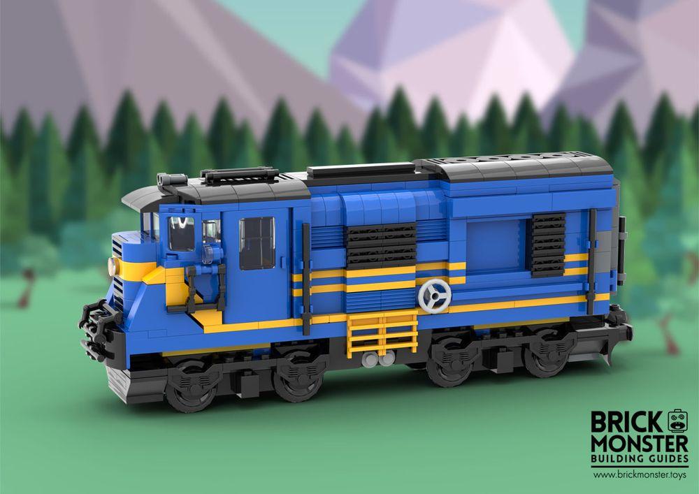 lego train moc instructions