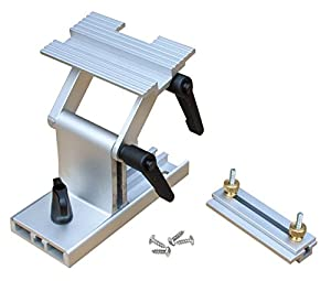 Knife sharpening guide for bench grinder