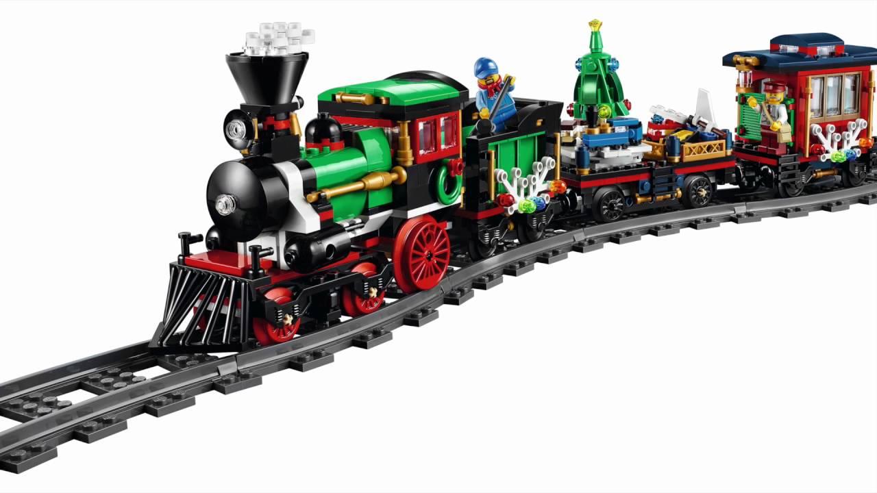 lego holiday train instructions 2016