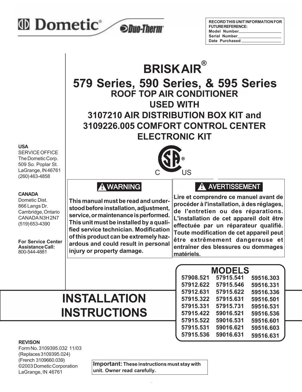 Rv air conditioner installation instructions