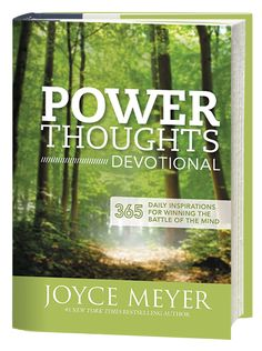 Developing power thoughts joyce meyer pdf