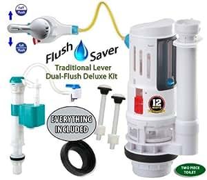 uberhaus toilet dual flush manual