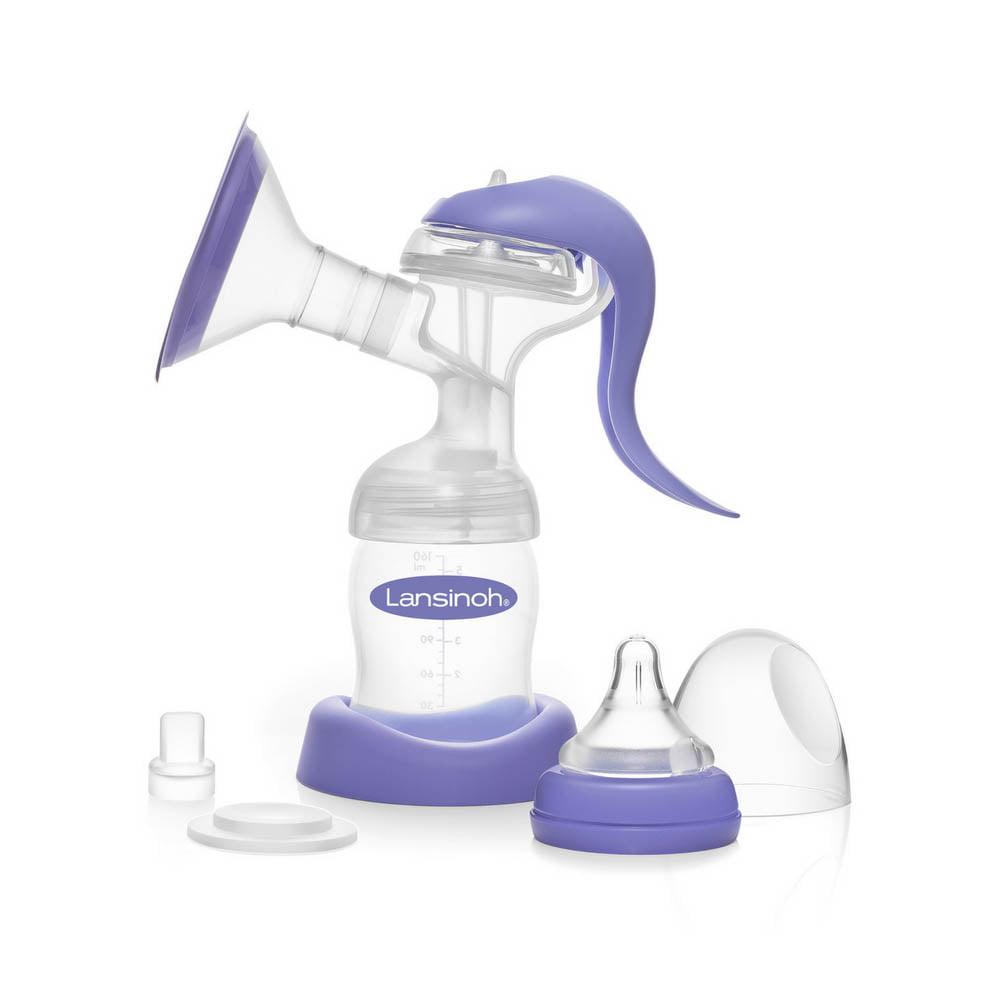 lansinoh manual breast pump walmart