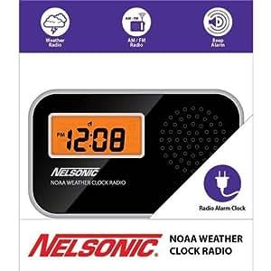 Nelsonic am fm alarm clock radio manual