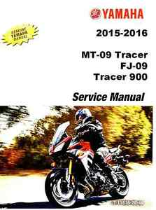 yamaha mt 09 service manual