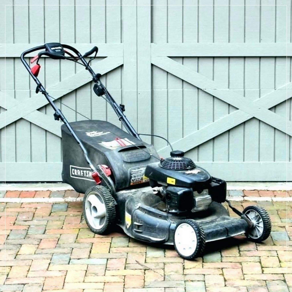 Craftsman 6.75 hp self propelled lawn mower manual