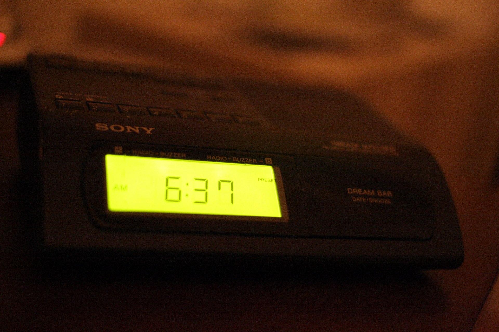 Sony icf c318 clock radio manual