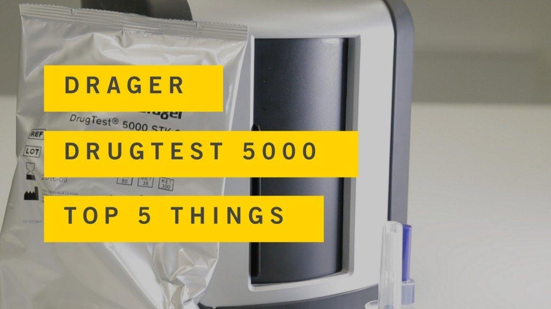 drager 5000 drug test manual