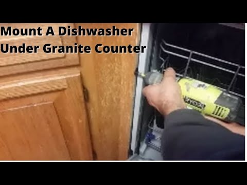lg dishwasher side mount instructions